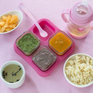 Green Sprouts Cubos de Plastico para alimentos Calipso
