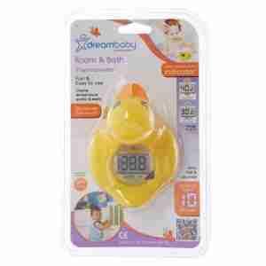 Dreambaby termometro para el agua y dormitorio Pato