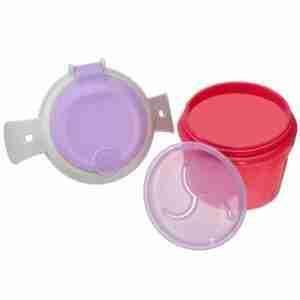 Vital Baby Bowl para snacks ROSADO