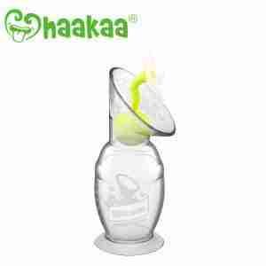Haakaa Tapa de Silicona Flor Blanca