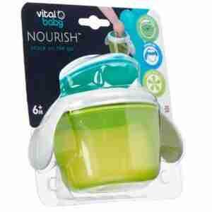 Vital Baby Bowl para snacks CELESTE