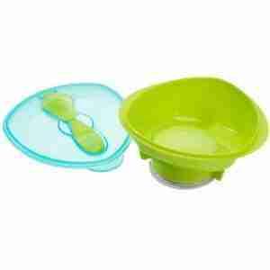 Vital Baby Bowl con Succión Verde