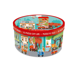 Scratch Europe PUZZLE 100PCS DE PISO, CIUDAD