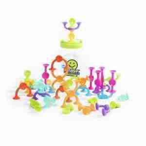 Fat Brain Toys SQUIGZ 2.0, JUEGO DE CREATIVIDAD Y CONSTRUCCIÓN