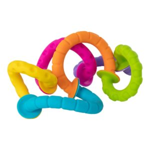 Fat Brain Toys PIPSQUIGZ RINGLETS, ANILLOS, MORDEDORES, CHUPONES